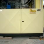 Gruppo elettrogeno usato 60kva + quadro automatico esterno           € 7500 + iva